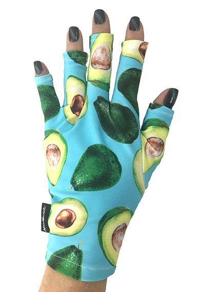 Avocado ManiGlovz manicure sunblock gloves