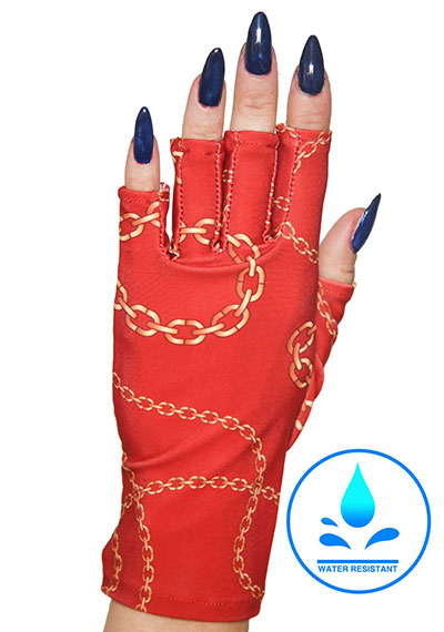 Chains of Love ManiGlovz manicure sunblock gloves