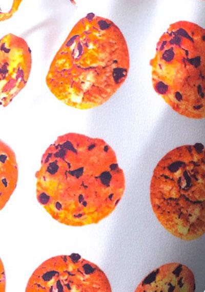Cookie pattern detail ManiGlovz manicure sunblock gloves