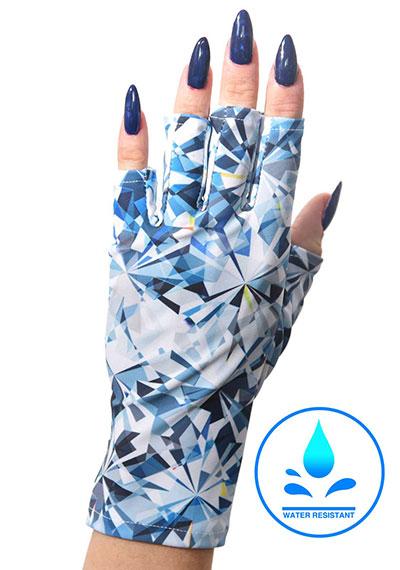Crushed Glass ManiGlovz manicure sunblock gloves