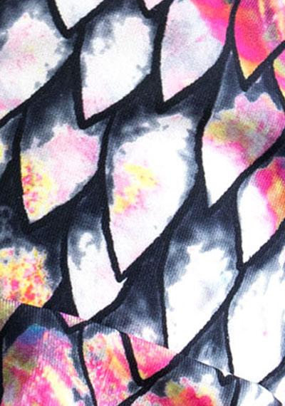 Dragon Scale pattern detail ManiGlovz manicure sunblock gloves