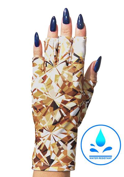 Glitz and Glam ManiGlovz manicure sunblock gloves