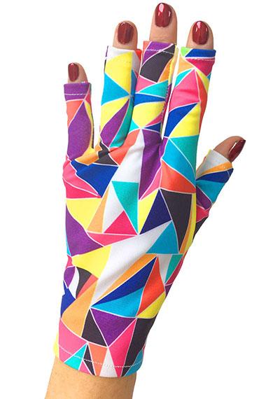 Kaleidoscope ManiGlovz manicure sunblock gloves