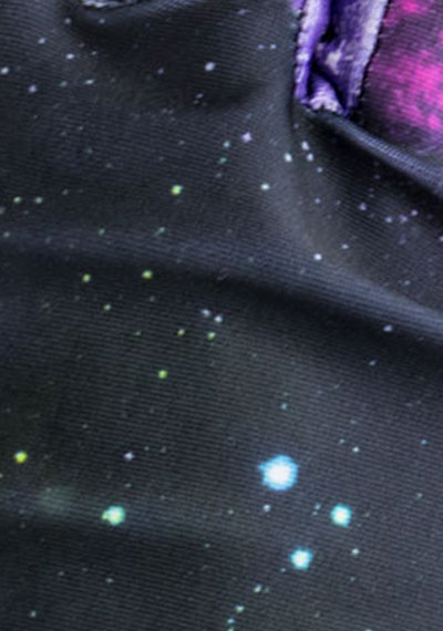 Spaced Out pattern detail ManiGlovz manicure sunblock gloves
