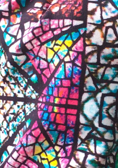 Stained Glass ManiGlovz manicure sunblock gloves