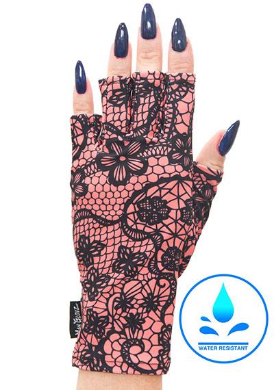 Sugar and Spice ManiGlovz manicure sunblock gloves
