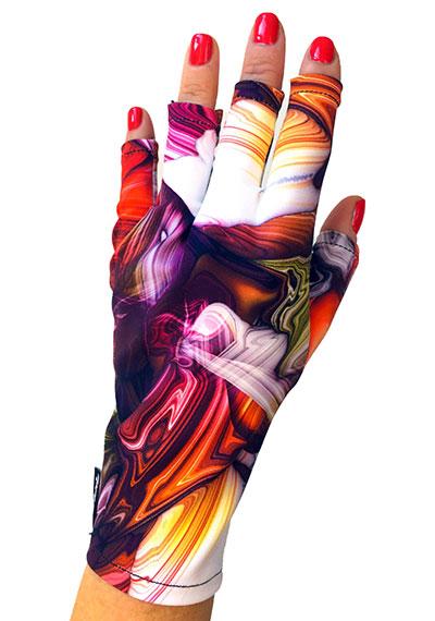 Tranquility ManiGlovz manicure sunblock gloves