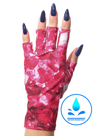 Wishful Pinking ManiGlovz manicure sunblock gloves