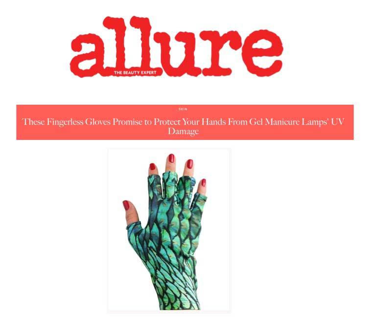 ManiGlovz in Allure Magazine