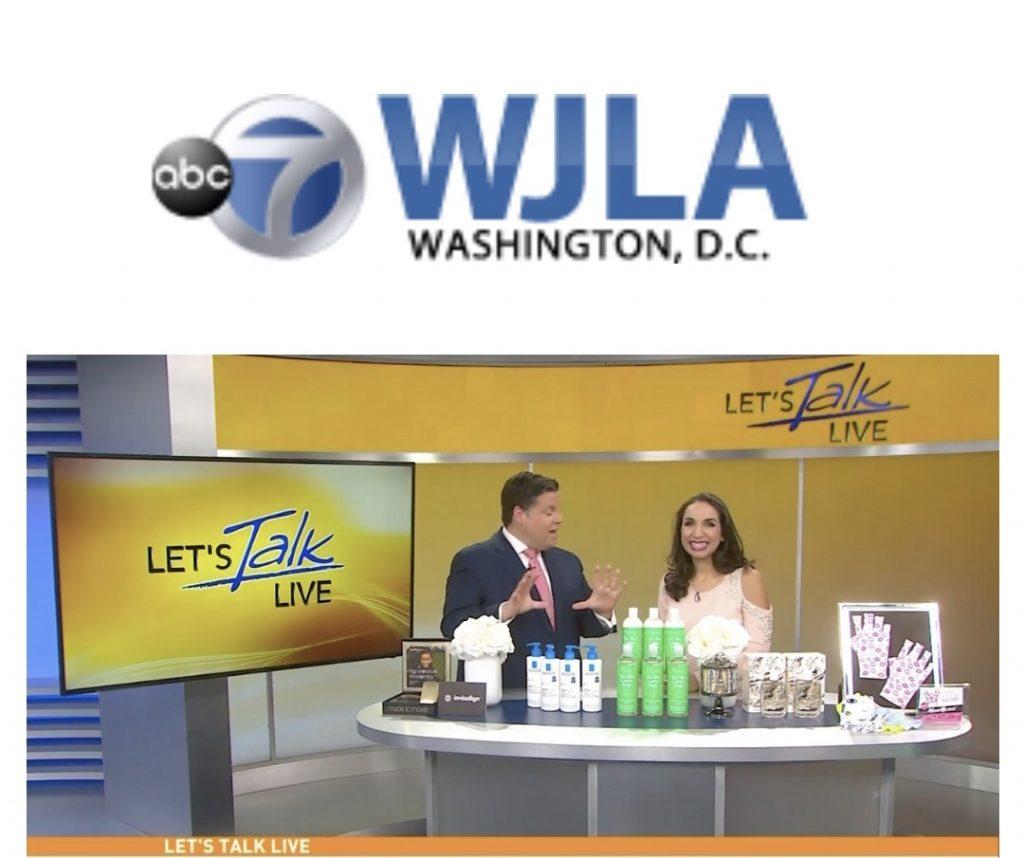 ManiGlovz on EJLA ABC 7 Washington DC television