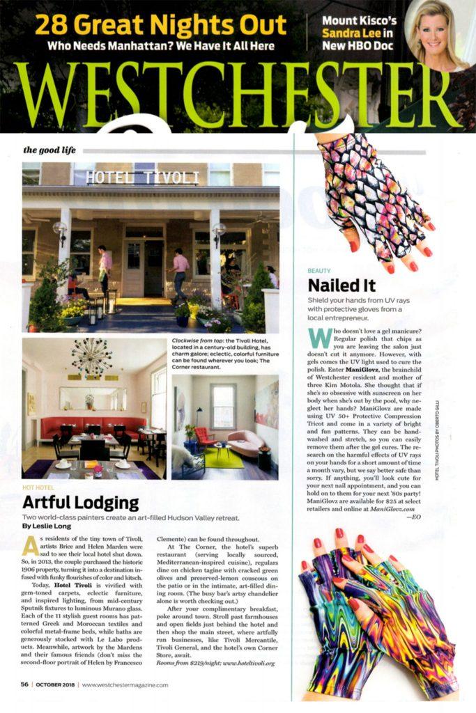 ManiGlovz in Westchester Magazine