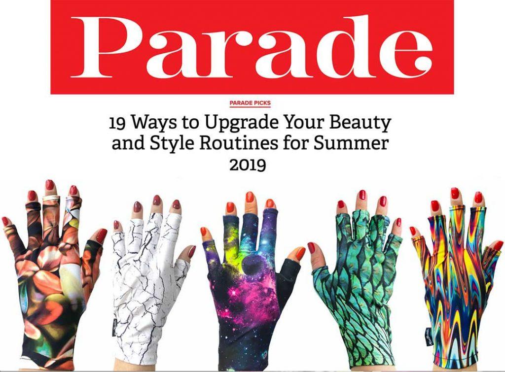 ManiGlovz review in Parade Magazine