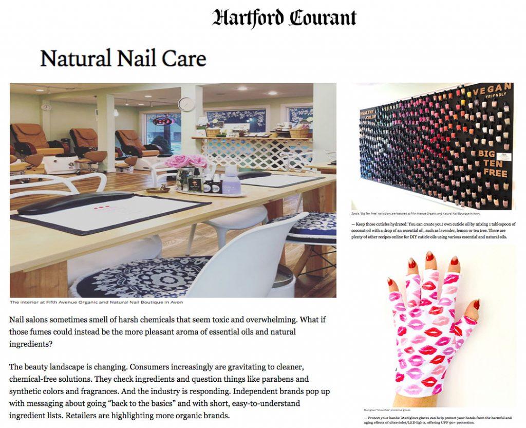 ManiGlovz featured in Hartford Courant